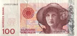 Norway 100 Kroner, P-49e (2010) - Very Fine - Noorwegen