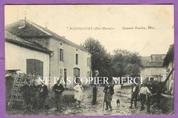 ROUECOURT - RARE - Villageois Au Centre Du Village - Proche Cerizieres ( Cerisieres ) Ambonville Flammerecourt - Frankreich