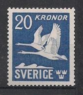 Sverige - 1942 - N°Yv. 7 - 20k Bleu - Neuf Luxe ** / MNH / Postfrisch - Unused Stamps