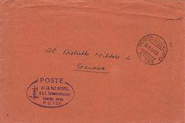 POSTA MILITARE R.S.I. AERONAUTICA REPUBBLICANA POSTA DA CAMPO 733 1944 GENOVA - Military Mail (PM)