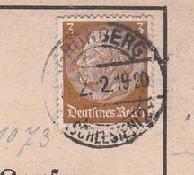 Deutsches Reich Karte Mit Tagesstempel Grünberg * Schlesien 2 1942 Zielona Gora RB Liegnitz Schlesien - Deutschland
