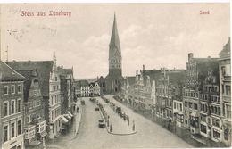 Feldpost-AK Lüneburg, Sand 1915 - Lüneburg