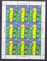 Europa Cept 2000 Macedonia 1v In Sheetlet ** Mnh (47779) GALAXY  PRICE - 2000