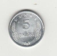 5 QINDARKA 1969 - Albania