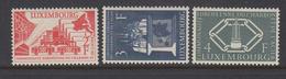 Luxembourg 1956 - Michel 552-554 MNH ** - Luxemburg