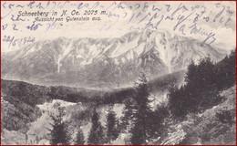 Schneeberg * Aussicht Von Gutenstein Aus, Rax Schneeberg Gruppe, Alpen * Österreich * AK2729 - Neunkirchen