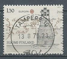 Finlande YT N°807 Europa 1979 Histoire Des Postes Oblitéré ° - Europa-CEPT