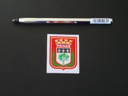 Petit Blason écusson Adhésif Autocollant Privas (Ardèche) Aufkleber Wappen Coat Arms Adhesivo Adesivo Stemma - Recordatorios