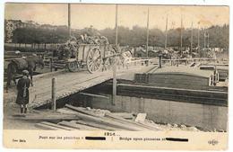 Compiègne / 1914 / Pont Sur Les Péniches - Compiegne