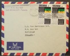 Tanzania - Cover To Holland 1978 Anti-Apartheid - Tansania (1964-...)