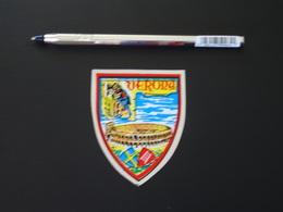 Blason écusson Adhésif Autocollant Vérona Vérone Arènes Aufkleber Wappen Coat Arms Adhesivo Adesivo Stemma - Recordatorios