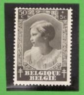 Belgique 1937 - Cob N°461 50c + 5c  - NEUF - - Belgium