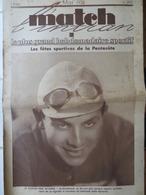 BOL D'OR AUTO-MOTO: MATCH L'INTRAN N°297 (17/05/1932): GRAND PRIX CYCLISTE WOLBER- PELOTE BASQUE- PANOSETTI (MÉMOIRES) - 1900 - 1949