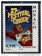 "Monaco YT 2382  "" Festival Du Cirque "" 2003 Neuf** - Unused Stamps"