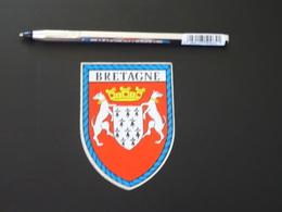 Blason écusson Adhésif Autocollant Bretagne Aufkleber Wappen Coat Arms Adhesivo Adesivo Stemma - Recordatorios