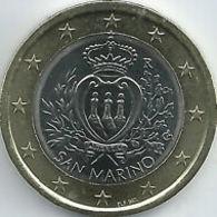 San Marino 2012    1 Euro  UNC Uit De BU - UNC Du Coffret   Zeldzaam - Extreme Rare - San Marino