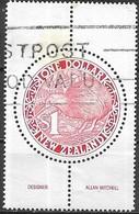 NEW ZEALAND 1988 Brown Kiwi - $1 - Red AVU - Neuseeland