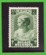 Belgique 1937 - Cob N°460 35c + 5c  - NEUF - - Belgium