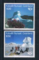 Grönland 1991 Norden Mi.Nr. 217/18 Kpl. Satz ** - Groenlandia