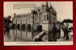 CPA 37 Château De Chenonceaux La Façade Orientale - Ed LL. 12 - Chenonceaux