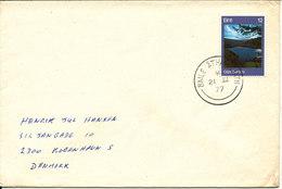 Ireland Cover Sent To Denmark Baile Atha Cliath 21-7-1977 High Valued EUROPA CEPT 1977 Stamp - 1949-... Republic Of Ireland