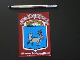 Blason écusson Adhésif Autocollant Cuxac D'Aude Aufkleber Wappen Coat Arms Adhesivo Adesivo Stemma - Recordatorios