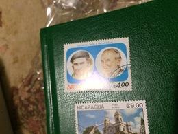 NICARAGUA UOMINI ILLUSTRI - Briefmarken