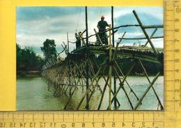 CPM  VIET-NAM, CAN KIM : Pont En Bambou - Vietnam