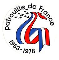 Patrouille De France 1953-1978 - Ohne Zuordnung