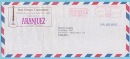 """J.M. 41 - Musique - E.M.A. - Etats Unis -  N° 46 - Instrument De Musique - Fabrique De Guitare """"Aranjuez"""" - Musique"""