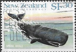 NEW ZEALAND 1988 Whales - $1.30 - Sperm Whale FU - Neuseeland