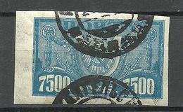 RUSSLAND RUSSIA 1922 Michel 177 X Y O - 1917-1923 Republic & Soviet Republic
