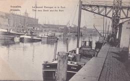 """BRUXELLES """"Le Nouvel Entrepôt Et Port """"  Voir Scans - Maritiem"""
