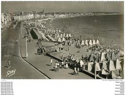 Photo Cpsm Cpm 85 LES SABLES-D'OLONNE. La Plage. Pour Chateaudun En 1953 - Sables D'Olonne