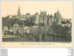 35 VITRE. Vue Château - Vitre