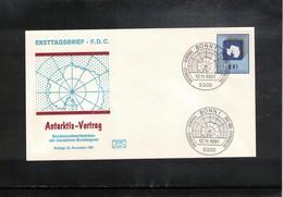 Germany / Deutschland 1981 Antarctic Treaty FDC - Antarktisvertrag