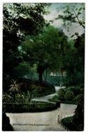 Ref 1362 - 1911 Postcard - The Arboretum Nottingham - KEVII 1/2d Harrison Printing Stamp - Nottingham