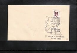 Argentina 1975 Turistic Cruises In Antarctica Interesting Cover - Polare Shiffe & Eisbrecher