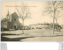 03 DOMPIERRE-SUR-BESBRE. Eglise Et Place - Frankrijk