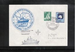 Germany / Deutschland 1989 Ship Polarstern Interesting Cover - Polar Ships & Icebreakers