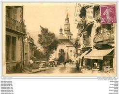 74 SAINT-GERVAIS-LES-BAINS. Eglise Et Restaurant Etoile Des Alpes 1938 - Saint-Gervais-les-Bains