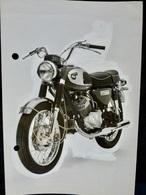 Photo PRESSE : MOTO _ KAWASAKI 350 AVENGER _ 1967 _ VINTAGE - Cars