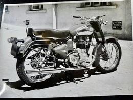 Photo PRESSE : MOTO _ ENFIELD 350 BULLET _ 1955 _ VINTAGE - Cars