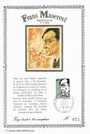 Frans Masereel Blankenberge 31.07.1889 - Tirage Limité N° 23/500 - Cartes Souvenir