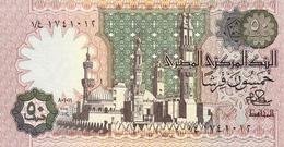 EGYPT  P. 55a 50 Ps 1981 UNC - Egypt