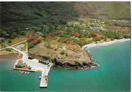 POLYNESIE FRANCAISE - ILES MARQUISES - Port De Taiohae - Polynésie Française