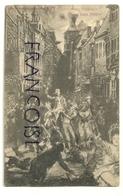 Le Vieux Liège. Retraite Aux Flambeaux. Carte Postale Officielle Du Vieux-Liège. 1905 - Liege