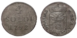 4 Soldi 1792 (Massa - Carrara) Billon - Toscane