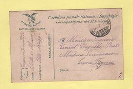Italie - Carte Franchise - Ufficio Posta Militare - 27 Divisione - 4e Regg Alpini - 1916 - 1900-44 Victor Emmanuel III