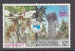 Kiribati - 1984 International Stamp Exhibition, Ausipex '84, Water Shemes - Used - Kiribati (1979-...)